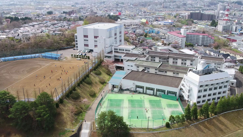東北学院榴ヶ岡高等学校校内画像