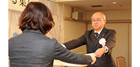 東北学院榴ケ岡高等学校に厚生労働大臣感謝状が伝達されました
