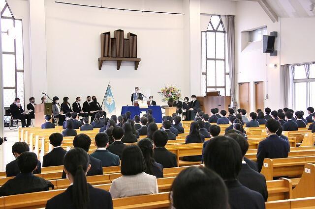 東北学院榴ケ岡高等学校「第63回入学式」挙行
