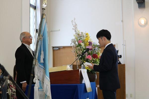 第61回榴ケ岡高校入学式を挙行しました